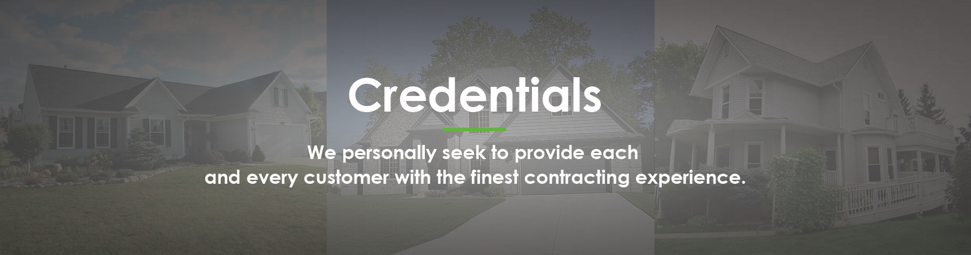Timbercrest Roofing and Siding Credentials