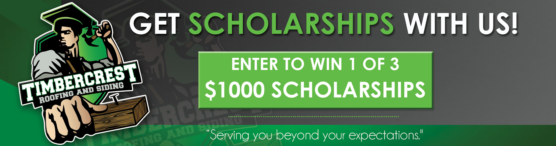 Timbercrest Roofing and Siding Scholarships